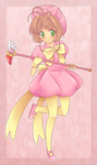 commission - poofy puff sakura-chan