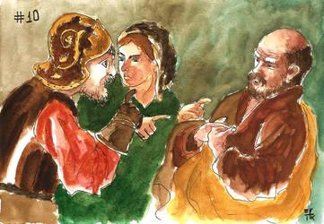 The Denial of Saint Peter by ErikReis