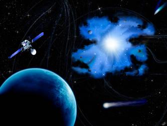 Space scene II by infinitedream89