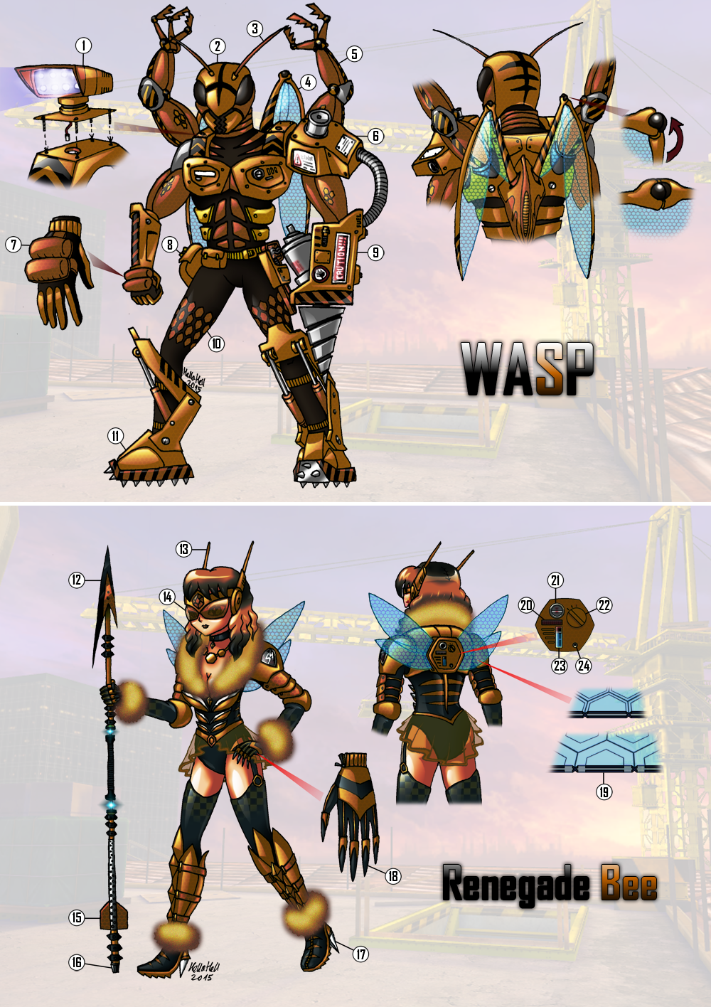 wasp_and_renegade_bee_by_hellafromhell-d9eob0w.png