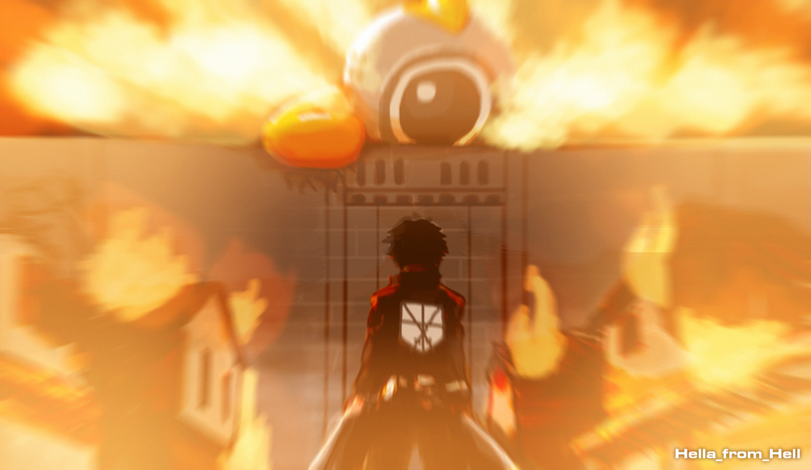 Attack on Fumbi by HellaFromHell