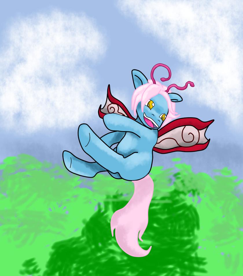 Bubblestar Enjoying A Spring Breeze by Puck-Dragon
