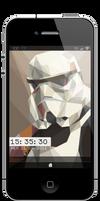 Lockscreen Stormtrooper