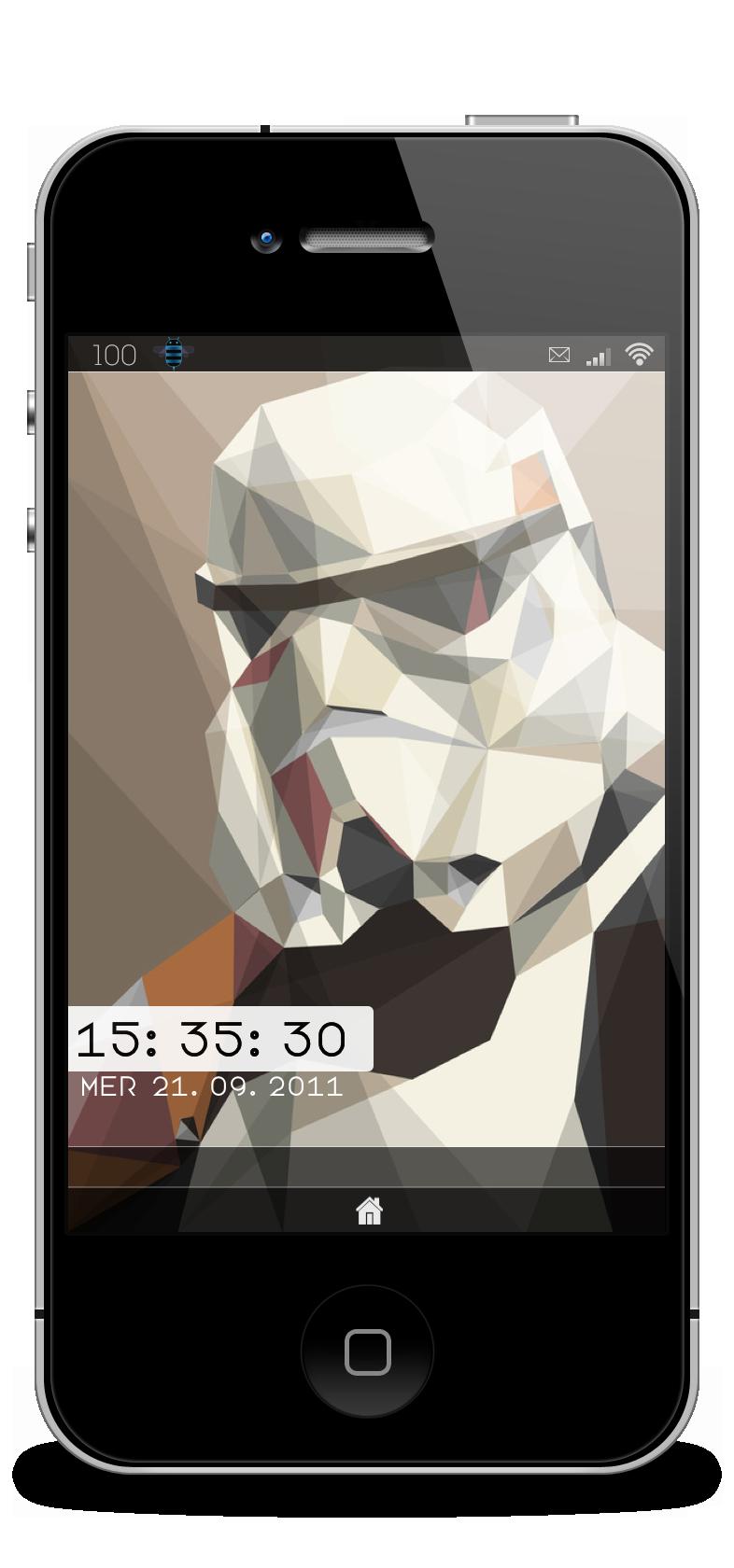 Lockscreen Stormtrooper by Laugend