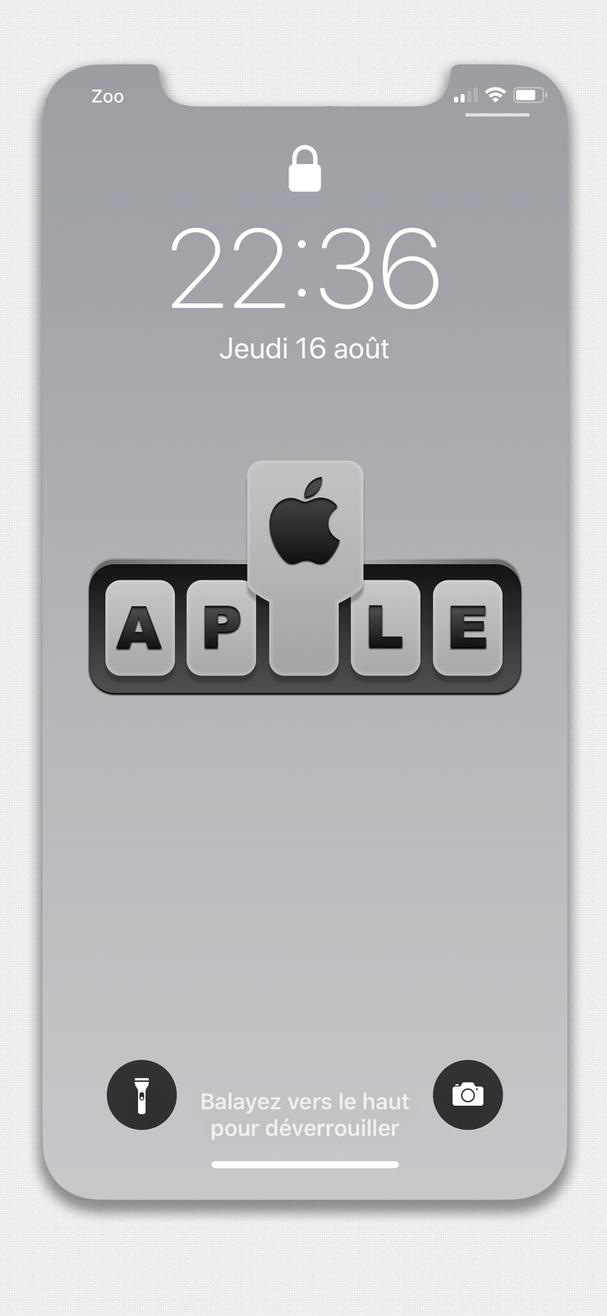 apple rebuilt by Laugend