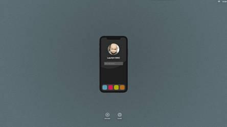 iMac connexion by Laugend