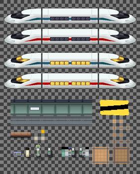 HGSS : Trains