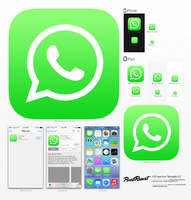 WhatsApp iOS7 icon