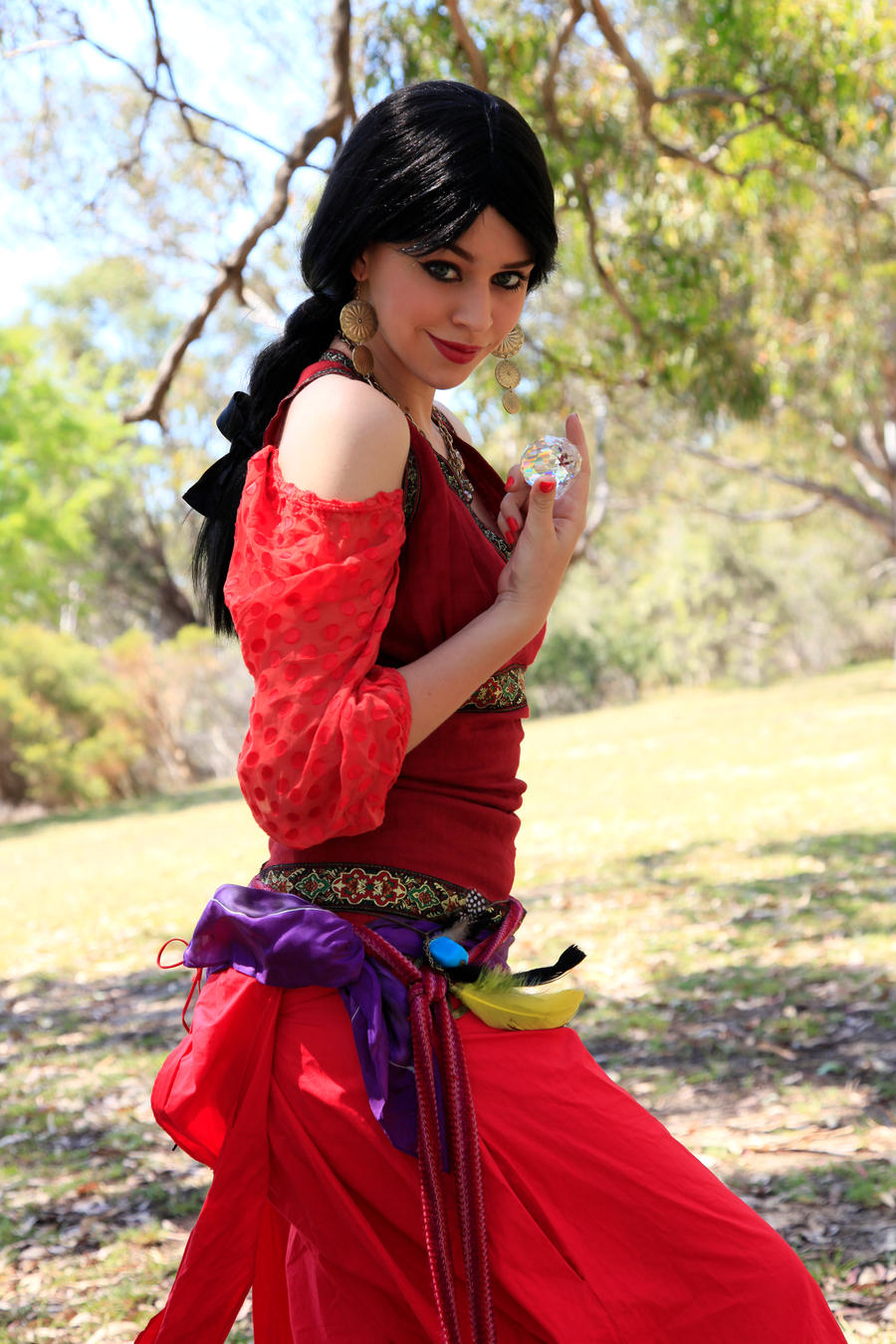 Gypsy Portrait by faestock