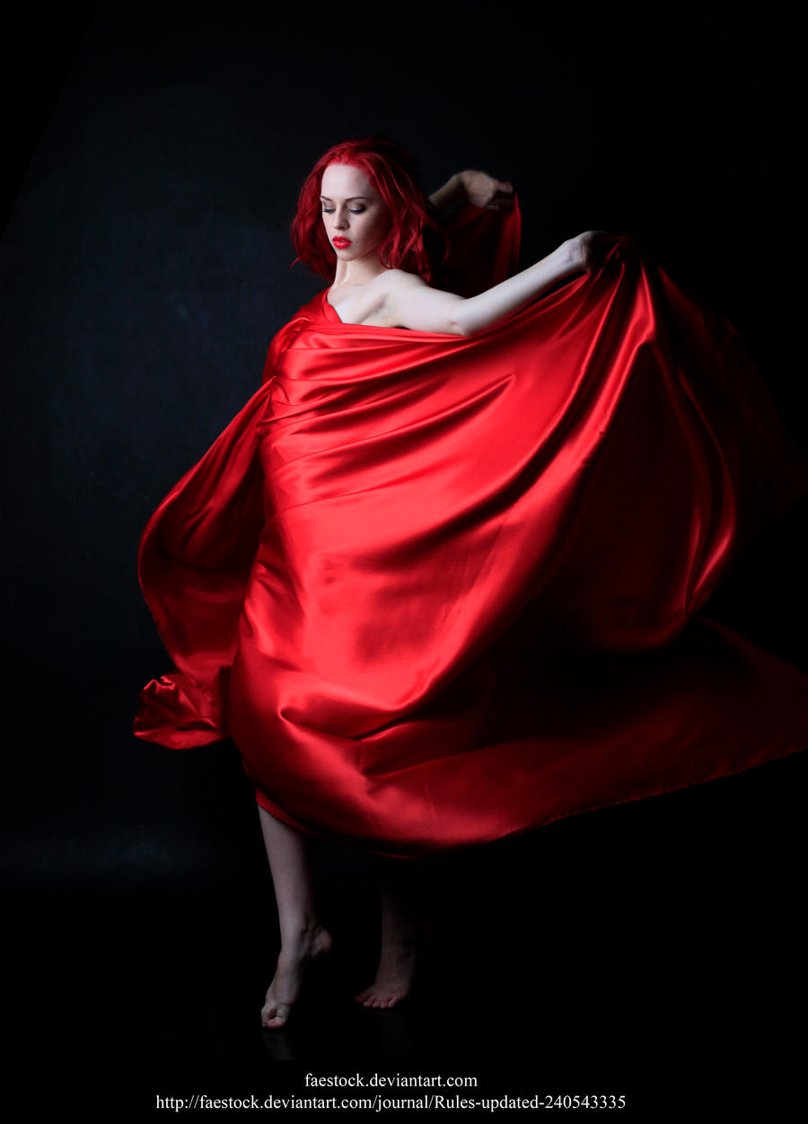 Red silk5 by faestock