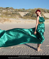 Green Silk 3 by faestock