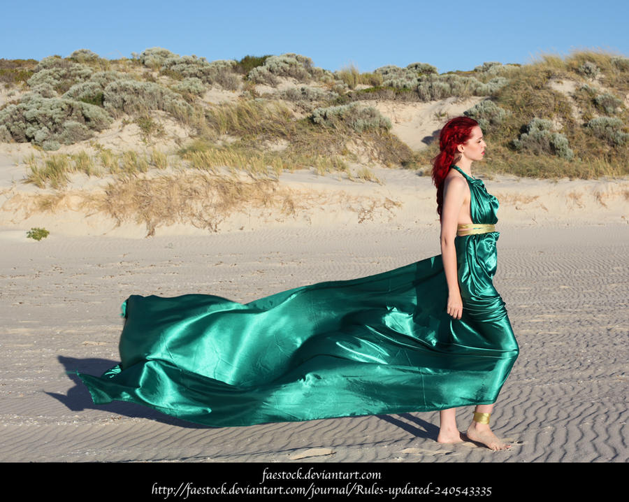 Green Silk 5 by faestock