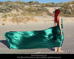 Green Silk 6 by faestock
