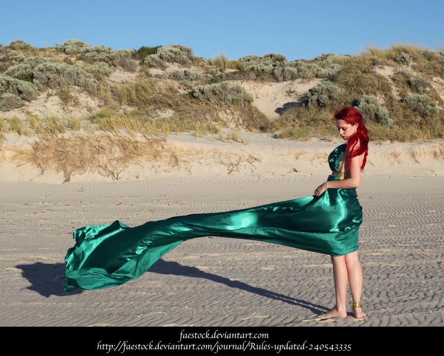 Green Silk 7 by faestock