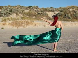 Green Silk 8 by faestock