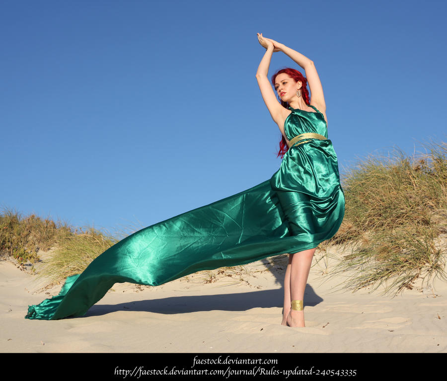 Green Silk 12 by faestock
