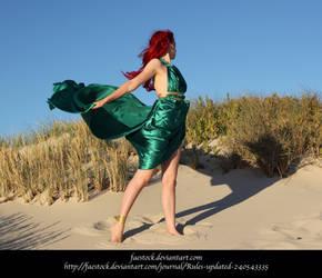 Green Silk 15 by faestock