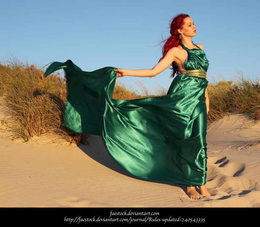 Green Silk 20 by faestock