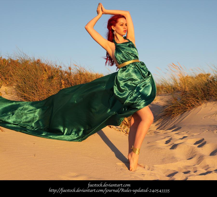 Green Silk 22 by faestock