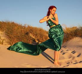 Green Silk 23 by faestock