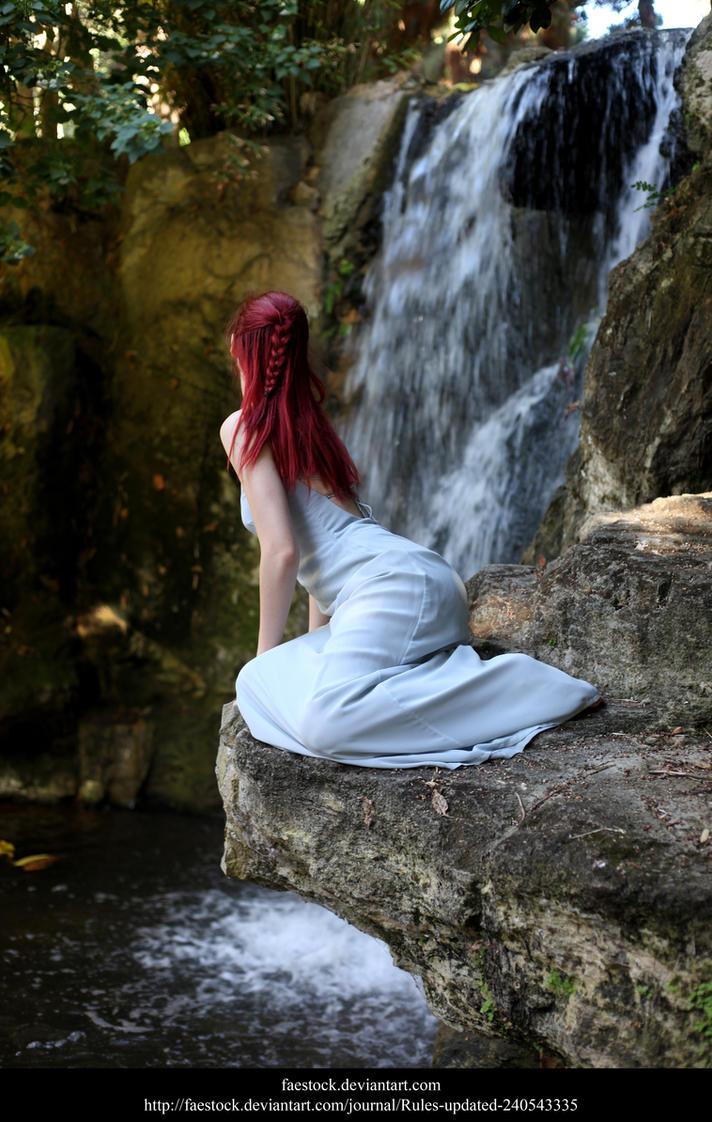 Waterfall by faestock