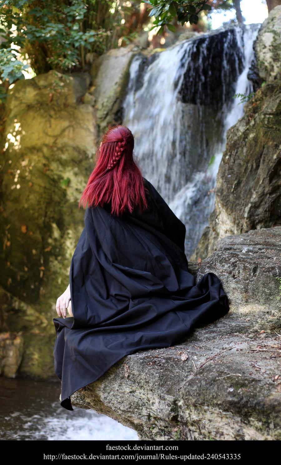 Waterfall5 by faestock