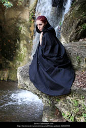 Waterfall 8 by faestock
