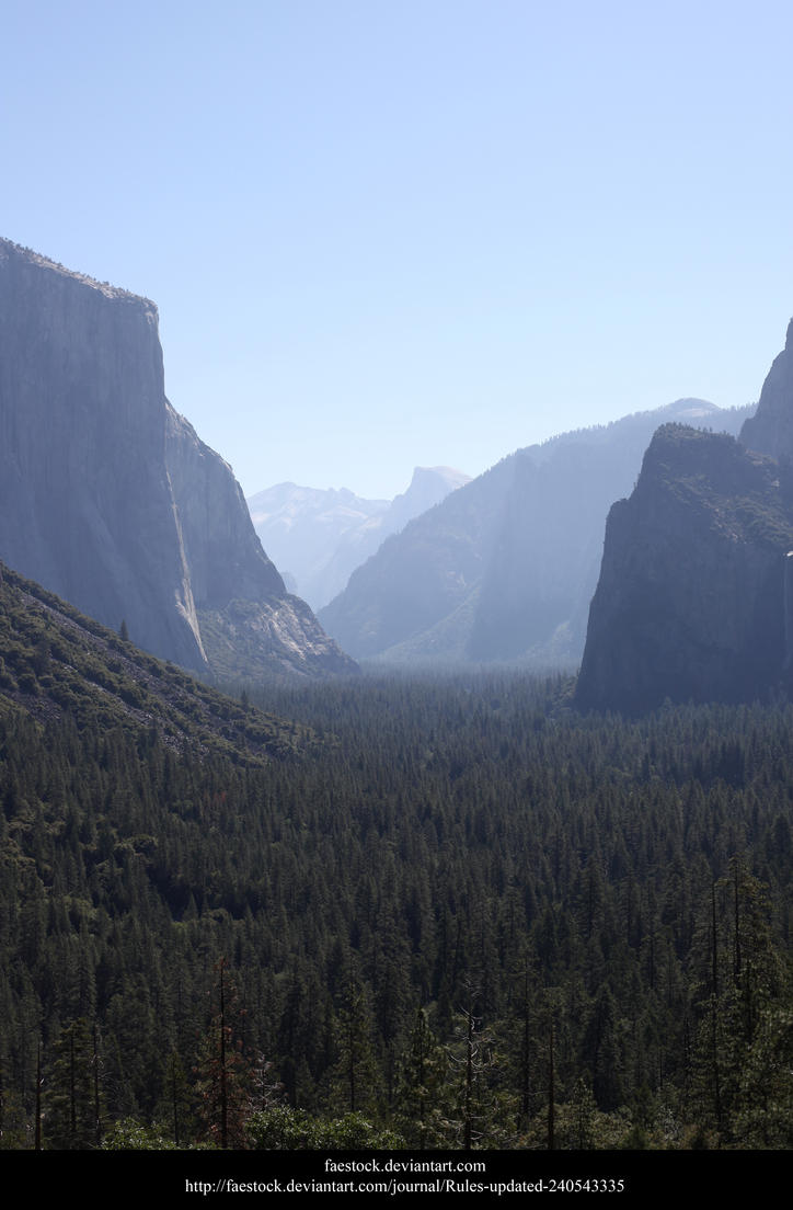 Yosemite by faestock