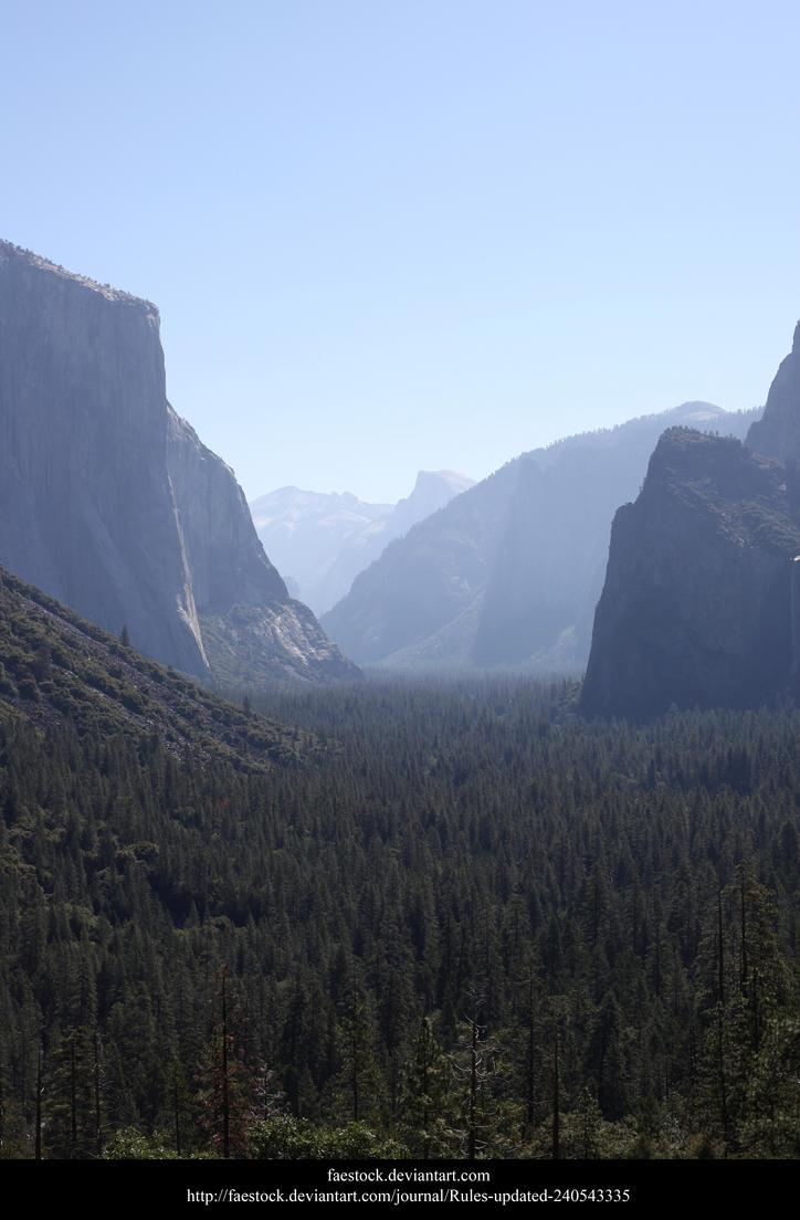 Yosemite by faestock