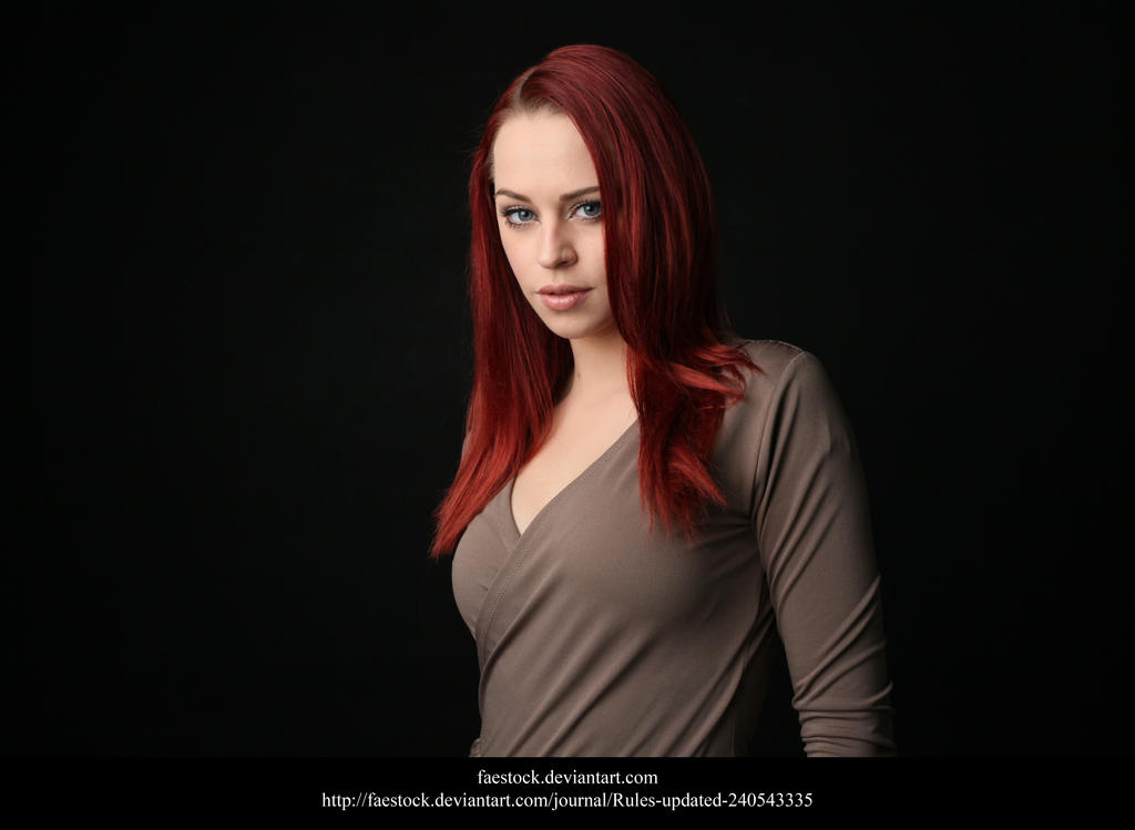 Studio portrait by faestock