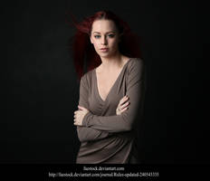 Studio portrait 4 by faestock