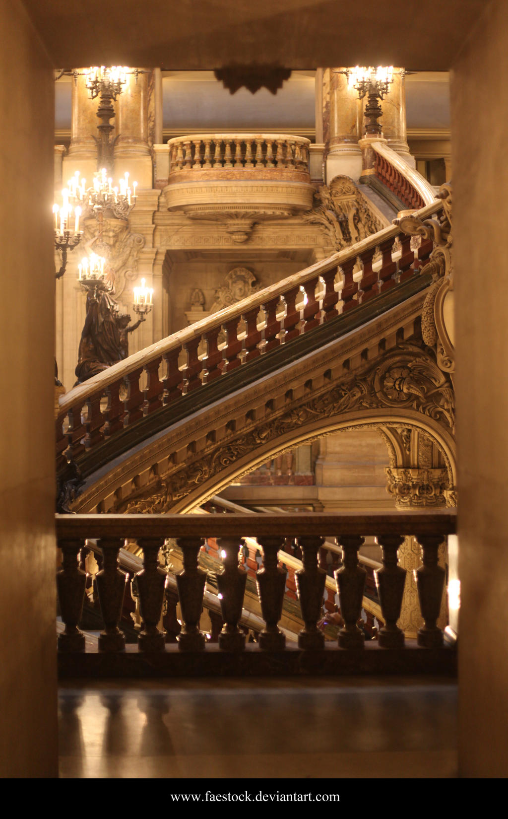 Paris Opera House2 by faestock