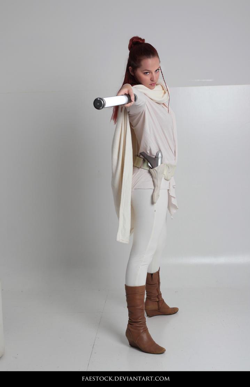 Jedi  - Stock Pose Reference 13 by faestock