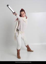 Jedi  - Stock Pose Reference 36 by faestock