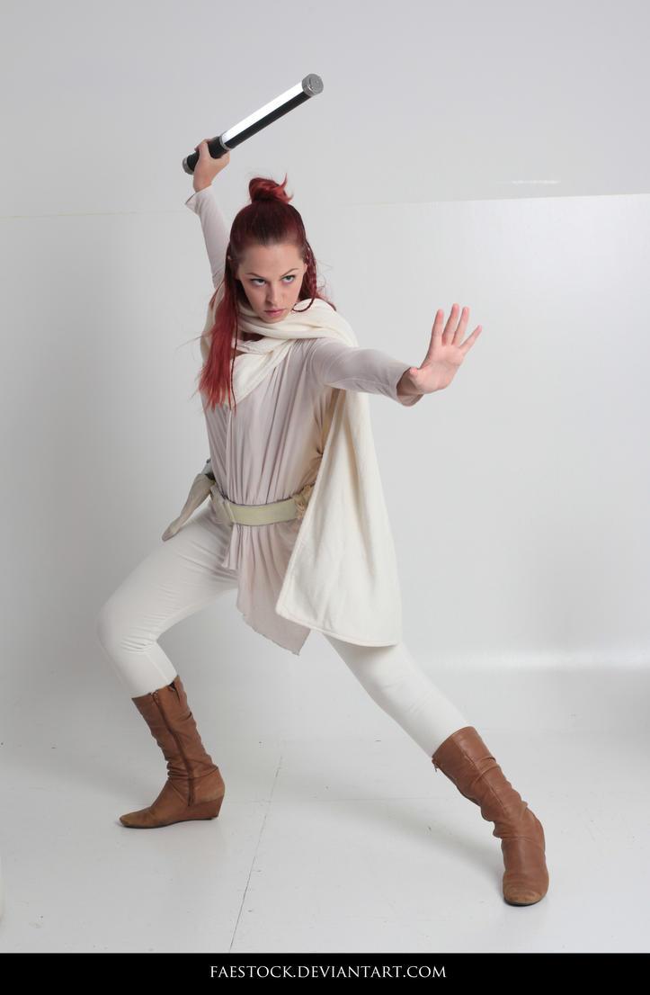 Jedi  - Stock Pose Reference 38 by faestock
