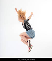 Jumping - Action Pose Reference 4 by faestock