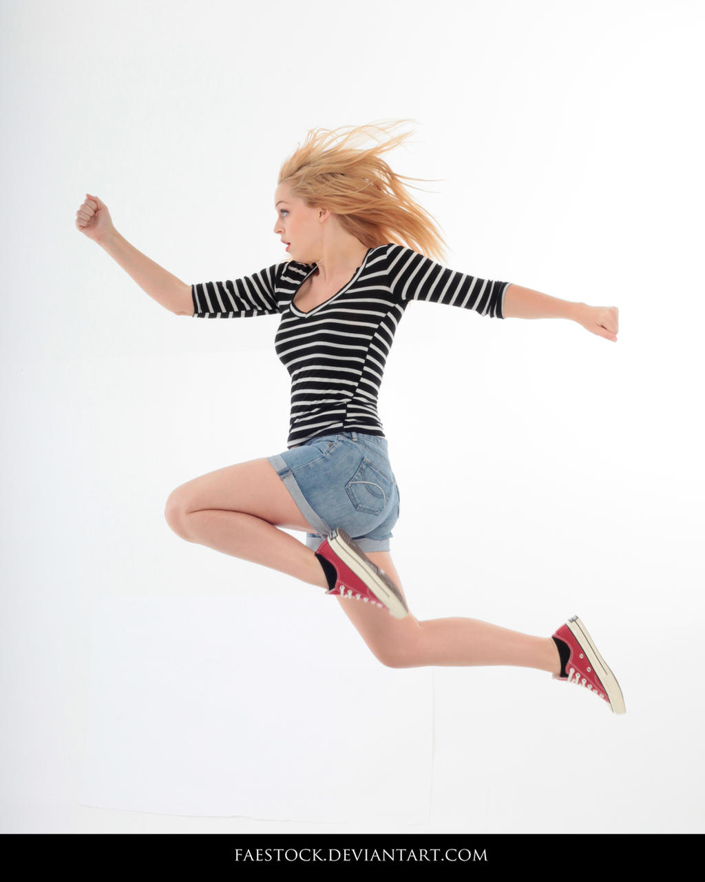 Jumping - Action Pose Reference 5
