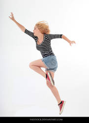 Jumping - Action Pose Reference 7