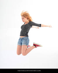 Jumping - Action Pose Reference 20 by faestock