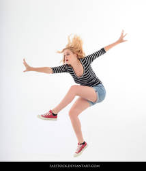 Jumping - Action Pose Reference 17