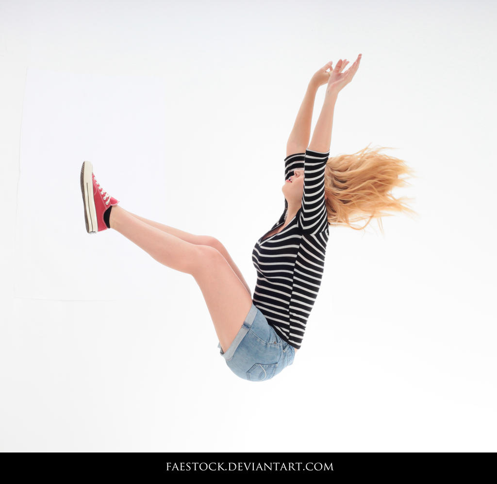 Jumping - Action Pose Reference 18 by faestock
