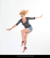 Jumping - Action Pose Reference 19