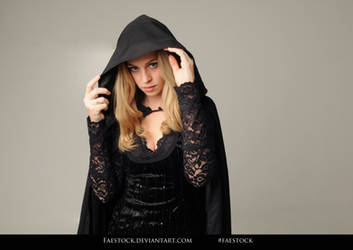 Alvira - Witch Portrait Stock 5