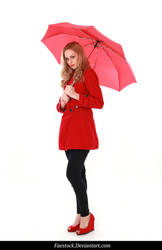 Rainy Days -  model stock reference 15 by faestock