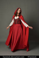 Red riding hood  - Stock model reference 5 by faestock