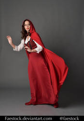 Red riding hood  - Stock model reference 6 by faestock