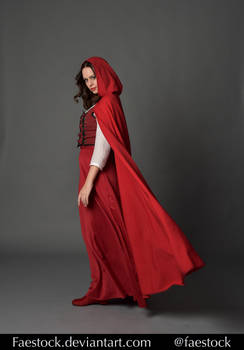 Red riding hood  - Stock model reference 8 by faestock