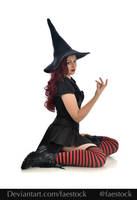Hocus Pocus -  Witch stock model reference 1 by faestock