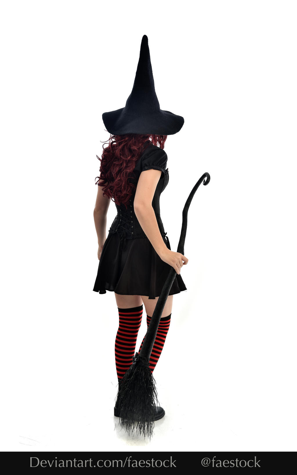 Hocus Pocus -  Witch stock model reference 5 by faestock