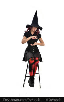 Hocus Pocus -  Witch stock model reference 10